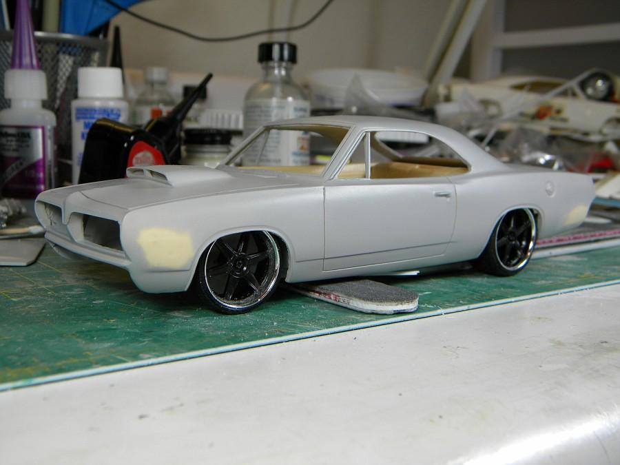 Resin Model Race Car Parts