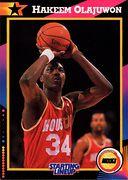 1992 Starting Lineup Hakeem Olajuwon (1)