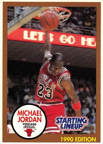1990 Starting Lineup Michael Jordan (1)