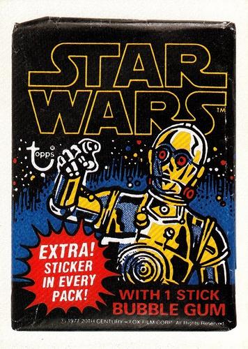Abrams Topps Stars Wars Book Promo #1 (1)