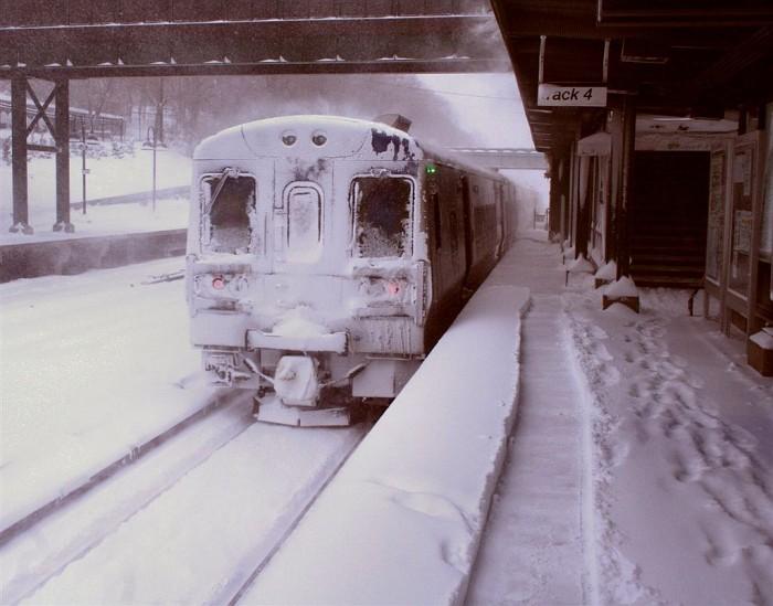Riverdale Metro North Station