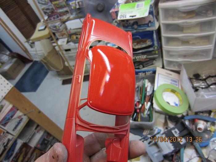 1955 Chrysler 300C, polissage, Bare-Metal!!!!! 017-vi