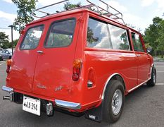 1964-Mini-Countryman-Rear