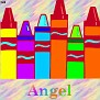 Crayons at schoolAngel