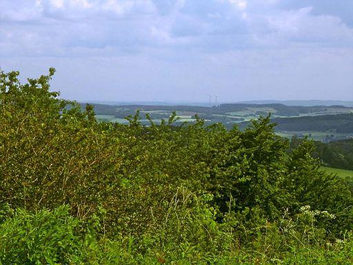 Blick vom Mühlingsberg