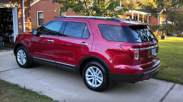 Mud Flaps Splash Guards Diy Pics Ford Explorer And