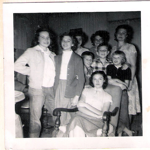 101-Aunt Fuchsia, Mamaw Aree, Louine and kids