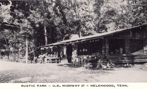 Rustic Park in Helenwood TN