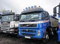 SF04 YKY Scania 114C340 tipper & SF07 OKW Volvo FM400 8x4 tipper