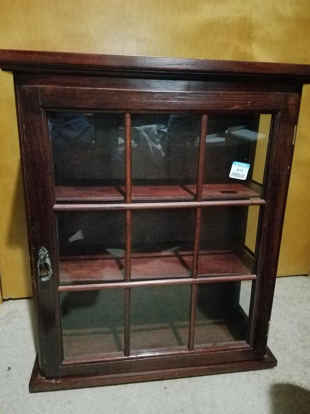 Mini Curio Cabinet