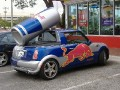 Spotted: Red Bull modified MINI