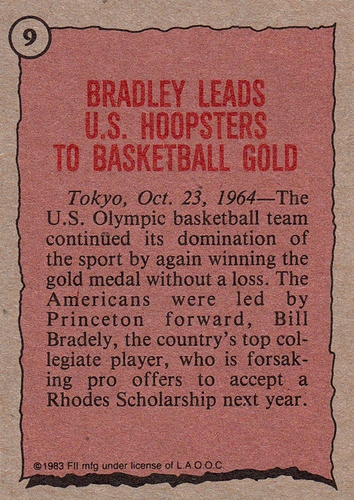 1983 Topps Greatest Olympians #09 (2)