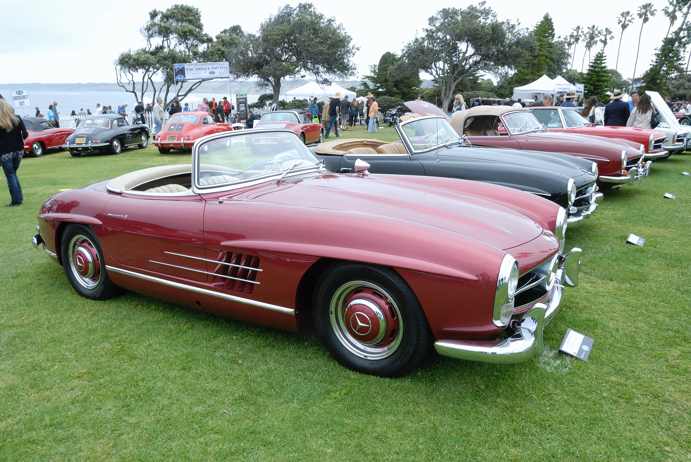 Photo 1959 mercedes benz 300 sl roadster owned by myron for Mercedes benz la jolla
