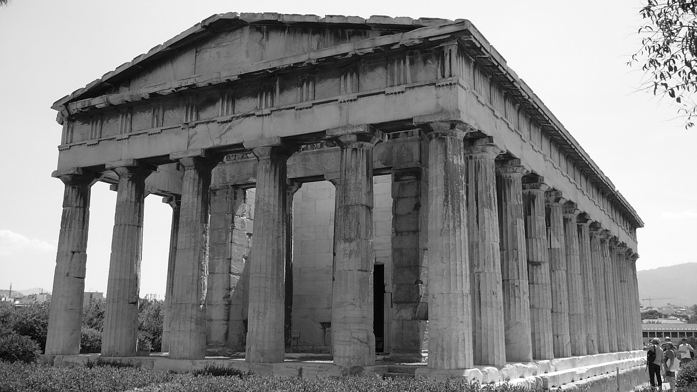 Temple of A Hephaistos, Thesseion 450 - 440 BC