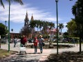 Center of the town of Chapala