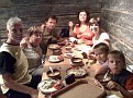 Sept 3-09 / 5:10 PM.  Dinner in Estonia with Dmitri, Katrin and kids, Talla, Alaina and I!!  Open Air Museum.