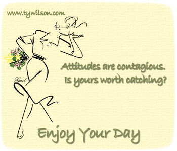 Enjoy Your Day-TyWilson~GalWithFlowers~SF-gailz