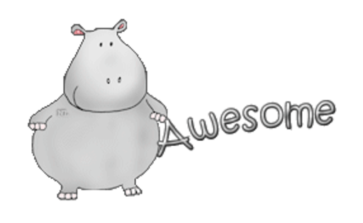 Awesome - CuteHippo2018