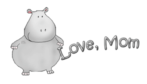 Love, Mom - CuteHippo2018