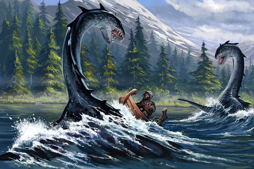 Orm Attack by Ben Wootten