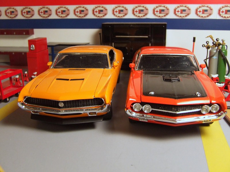 Torino Gt Along Side The Twister Special Grabber Orange Or Calypso Coral
