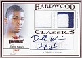 Dorell Wright 2004-05 Fleer Throwbacks Hardwood Classics Patch  - Copy