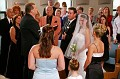 Guests Shed Happy Tears as the Bride Approaches the Alter with Her Dad