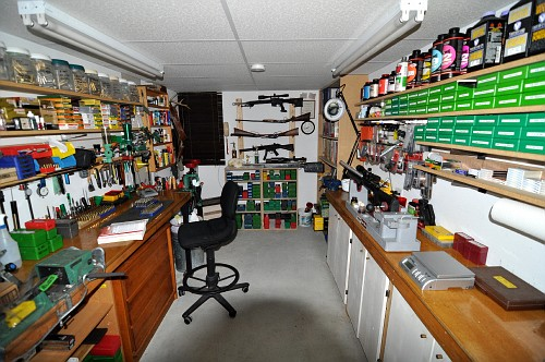 Show us your Reloading area