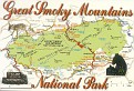 Great Smoky Mountains NP Map