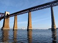 Queen Mary 2; Firth of Forth Railway Bridge