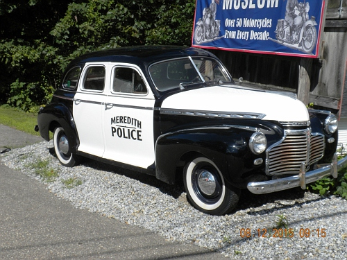 NH- Meredith Police 1941 Chevrolet