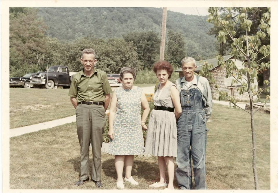 Brothers and Sisters: Mitchell, Pernie, Evelyn, Frank