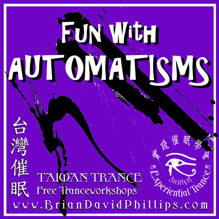FUN with AUTOMATISMS – 3 October – Free Workshop