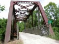 Neat old railroad bridge
