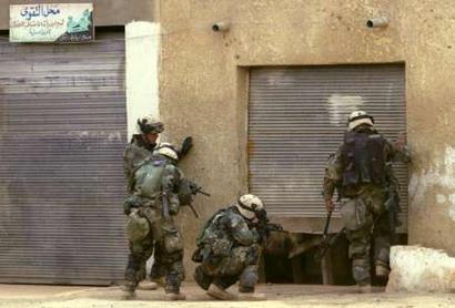 USA Airborne 101 in Iraq 033