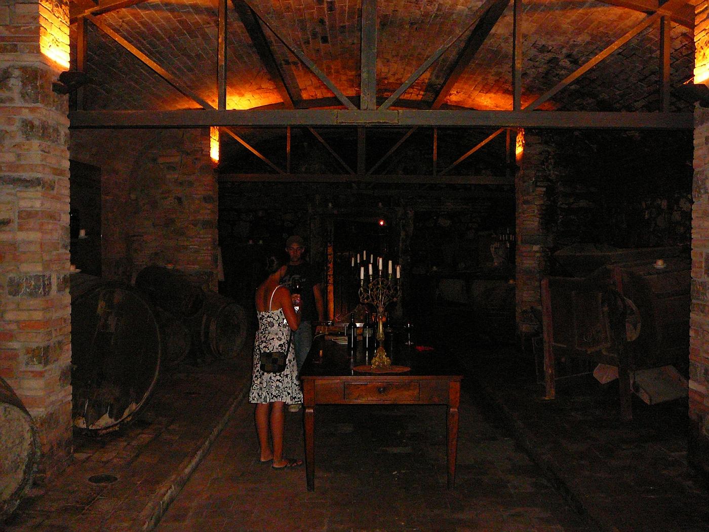 Dievole Winery Old Cellar