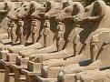 Temple of Karnak - Avenue of Ram Headed Sphinxes