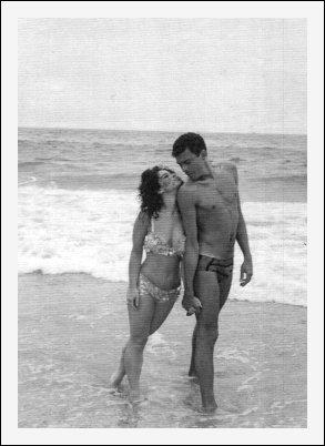 Donna & Hopeton at the beach