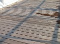 Warped Teak Decking