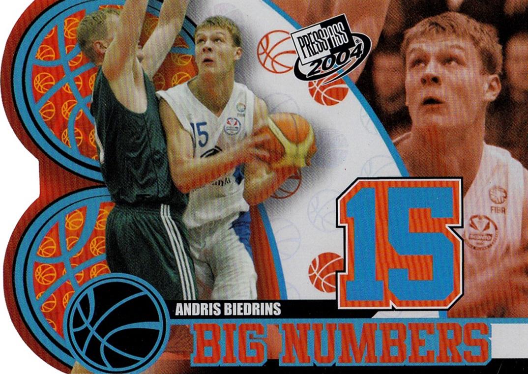2004 Press Pass Big Numbers #BN07 (1)
