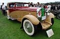 1931 Delage D8 Chapron Victoria Coupe front exterior view