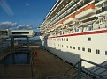 Carnical Pride docked in Port Canaveral