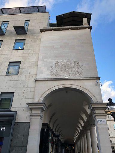 Covent Garden arcade