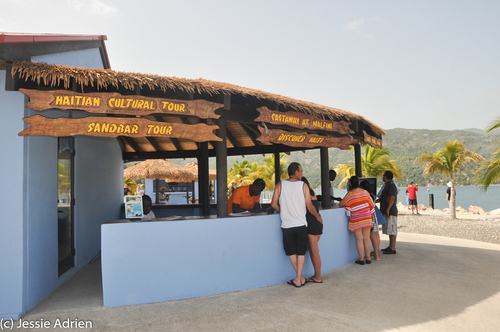 Francois 60th Birthday Cruise Labadee corrige Jessie-13