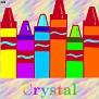 Crayons at schoolCrystal
