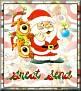Santa with friendsTaGreat Send