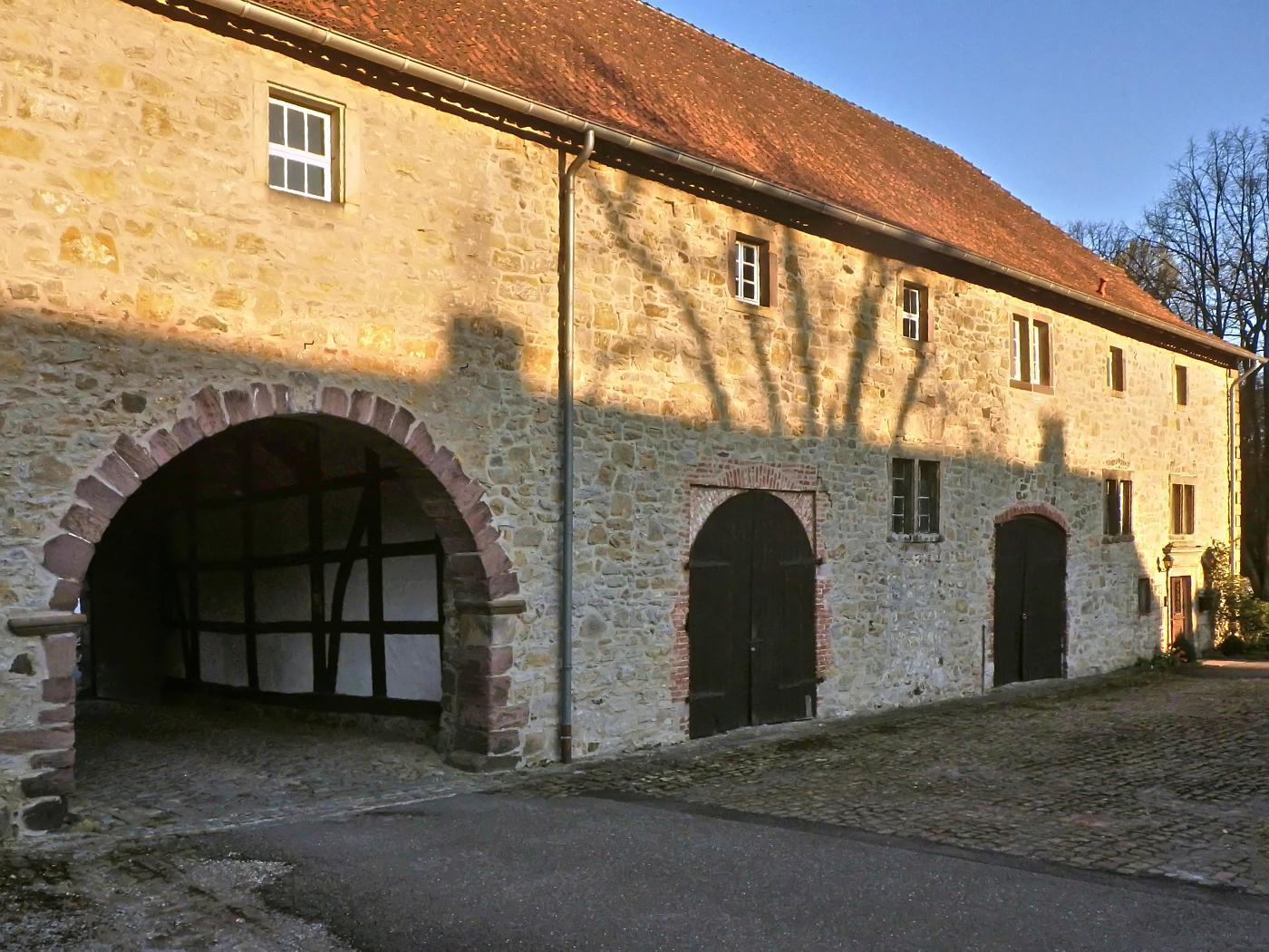 Wirtschaftsgebäude des Schlosses