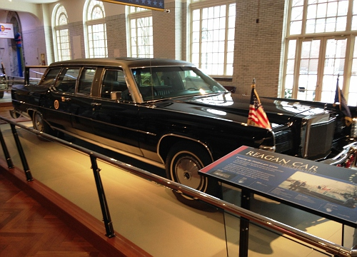US - President Reagan's 1972 Lincoln Limo
