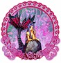 Aisha Floral-Maid Lavender