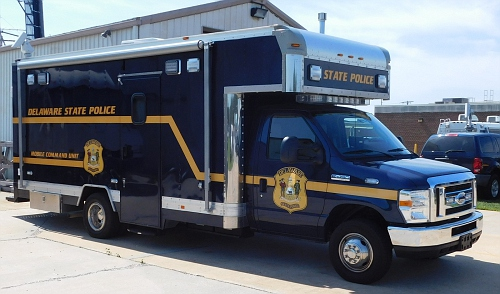 DE - Delaware State Police  Mobile Command Post